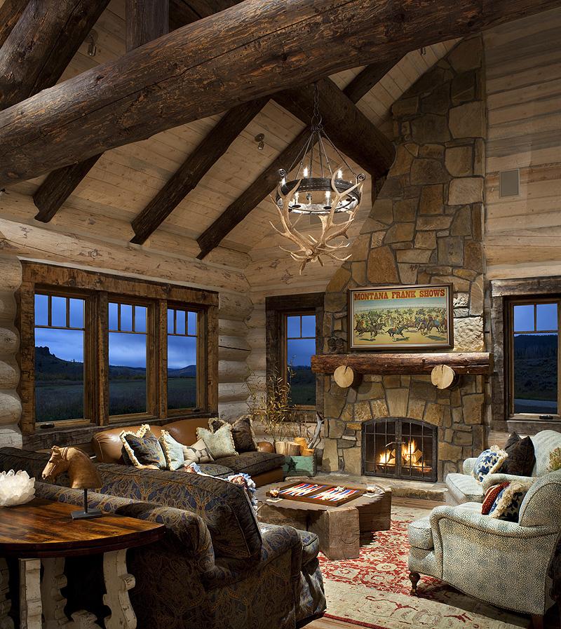 Cabin Interior Ideas: Axial Arts Architecture » LEED Silver Meadow Cabin